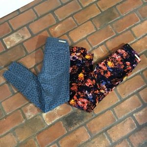 Pants - Velvet pants Anthropologie pilcro
